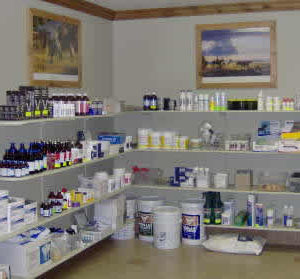 Veterinary supplies at Upper Valley Veterinary in Rexburg
